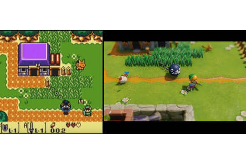 The Legend of Zelda: Link's Awakening Graphics Comparison ...
