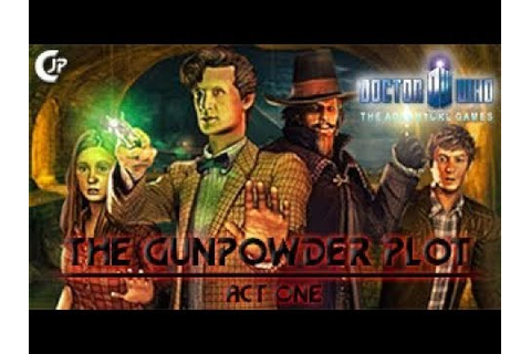RLA : Doctor Who Adventure Games #13 - The Gunpowder Plot ...