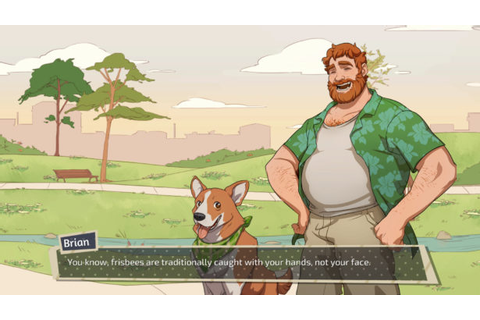 Major DILF Alert: DREAM DADDY Is a Game About Dating Hot ...
