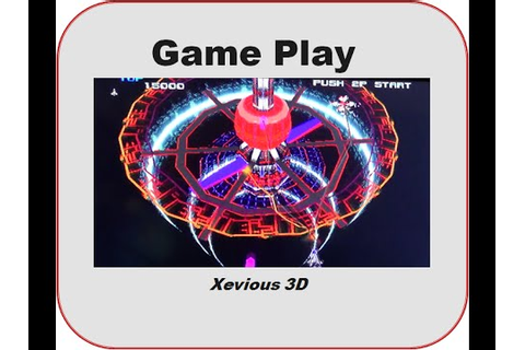 Xevious 3D/G Game Play - YouTube