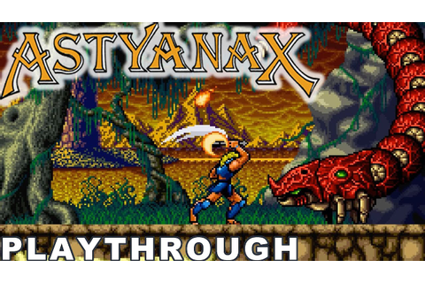 The Astyanax – Gameplay Playthrough [Arcade] - YouTube