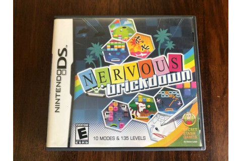 Nervous Brickdown, Nintendo DS game CIB | eBay