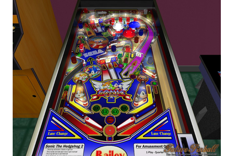 Sonic the Hedgehog 2 addon - Future Pinball - Mod DB