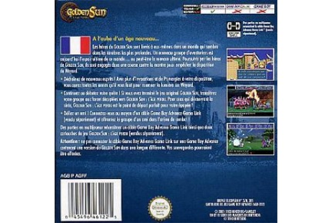 Jeux Vidéo Golden Sun L' Age Perdu Game Boy Advance d'occasion
