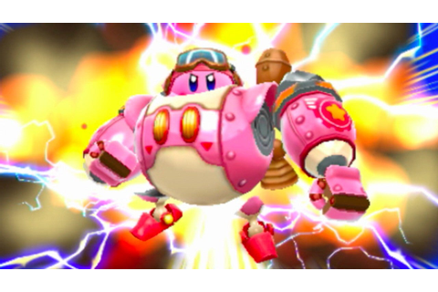 Kirby: Planet Robobot WonderCon 2016 Gameplay - IGN Video