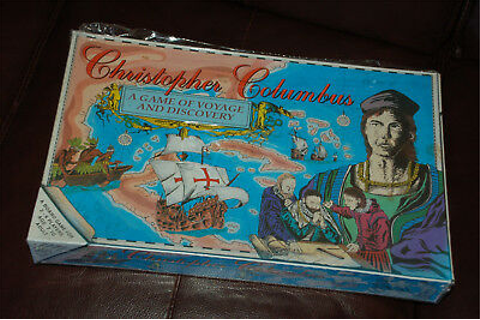 CHRISTOPHER COLUMBUS: GAME OF DISCOVERY - board game ...