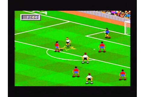 FIFA 95 review for the Megadrive Review - YouTube