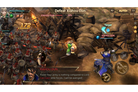 Dynasty Warriors: Unleashed Mobile Game Review — Way ...