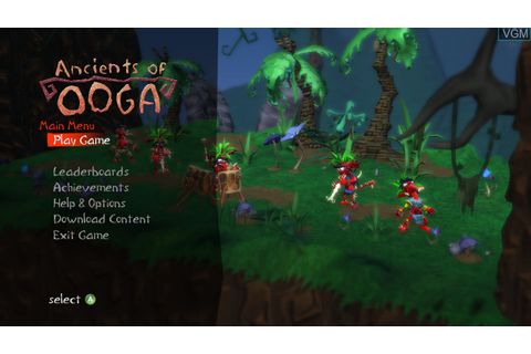 Ancients of Ooga for Microsoft Xbox 360 - The Video Games ...