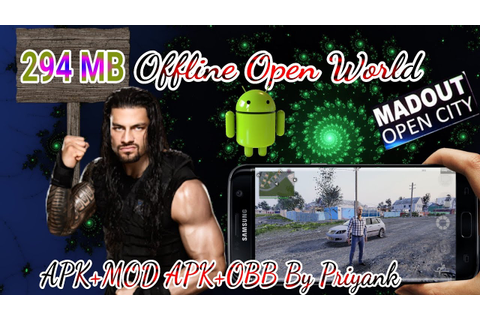 By Priyank(Offline Open World) MadOut OpenCity APK+OBB ...