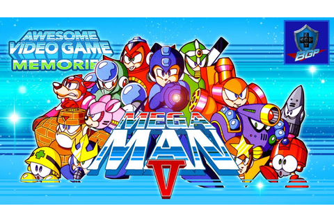 Mega Man 5 Review (NES) - Awesome Video Game Memories ...