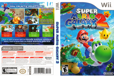 Games Covers: Super Mario Galaxy 2 - Wii