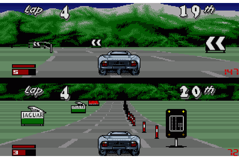 Jaguar XJ220 (1992) by Core Design for Amiga