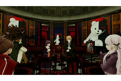 Cyber Danganronpa Project Morpheus tech demo showcased in ...