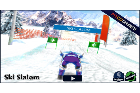 Ski Slalom | Play the Game for Free on PacoGames
