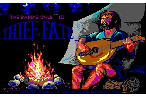 The CRPG Addict: Game 47: The Bard's Tale III: Thief of ...