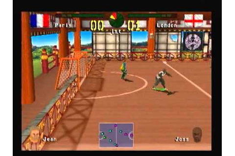 PS1 - Chris Kamara's Street Soccer - Match 1 - London vs ...