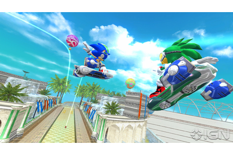 1UP's Sonic Free Riders Video Preview – The Sonic Stadium