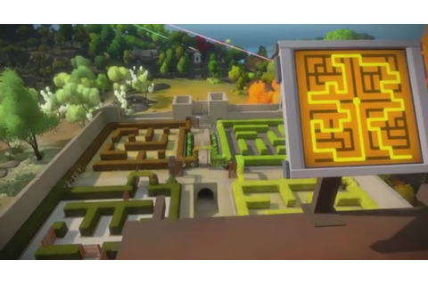 The Witness: The Keep (Hedge Maze) Walkthrough - GameZone