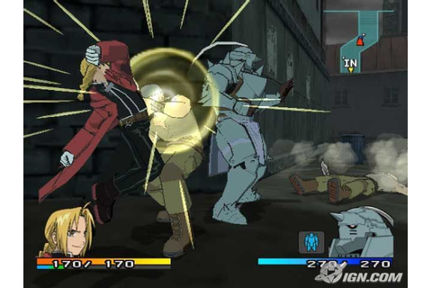 Fullmetal Alchemist 2 Curse of the Crimson Elixir PS2 ISO ...