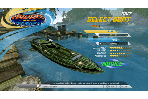 Hydro Thunder Hurricane for Windows 10 (Windows) - Download