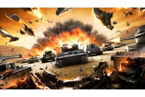 This World of Tanks trailer explodes everything to ...