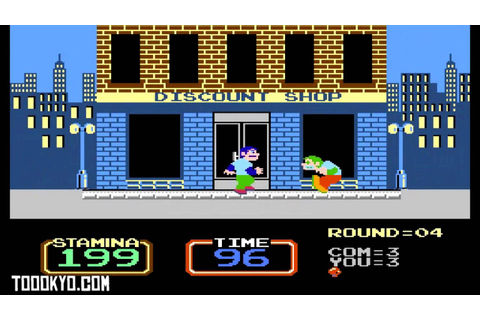 Urban Champion (NES) (1984) - YouTube
