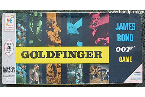 Milton Bradley Goldfinger board game