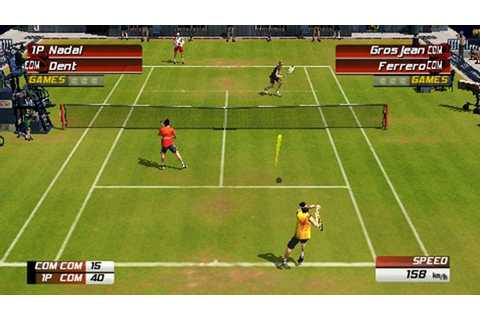 Virtua Tennis 3 Game | PSP - PlayStation