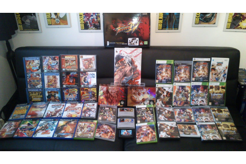 My Street Fighter Collection 2016 - YouTube