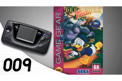 Deep Duck Trouble starring Donald Duck [009] Game Gear ...