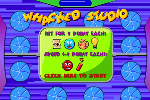 Whacked Studio Game - Play Free Kids games - Games Loon