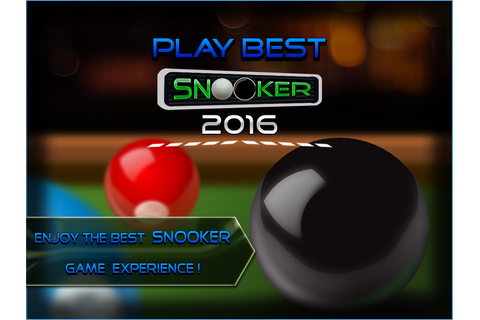 Play Best Snooker - Android Apps on Google Play