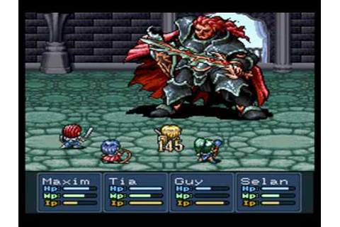 Lufia II Rise of the Sinistrals Sinistral Battle Theme ...