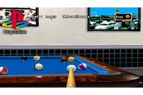 Backstreet Billiards (PS1 Gameplay) - YouTube