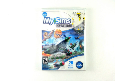MySims SkyHeroes game for Wii (New) | The Game Guy