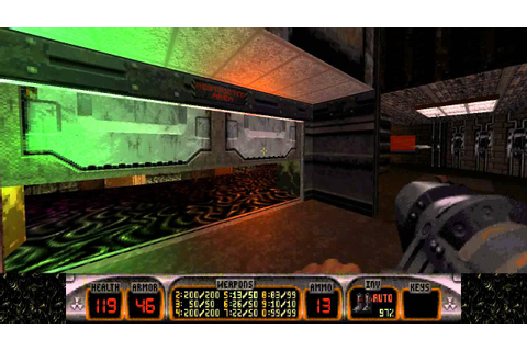 Duke Nukem 3D: Atomic Edition - E4L8: Critical Mass - YouTube