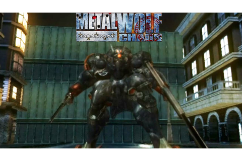Metal Wolf Chaos - Gameplay Xbox (Release Date 2004) - YouTube