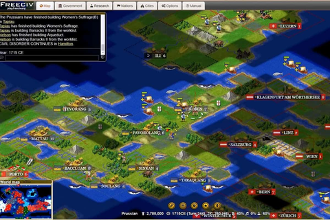 Freeciv | Play game online!