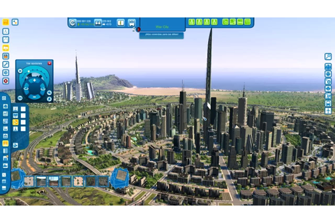 Cities XL Platinum - BUILDING A FUTURISTIC CIRCULAR CITY ...