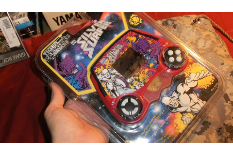 BRAND NEW Silver Surfer Tiger Handheld LCD Game still in ...