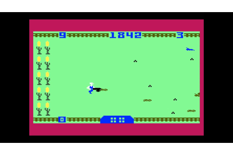 Worm Whomper for the Mattel Intellivision - YouTube