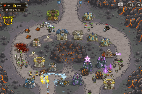 Play this: 'Kingdom Rush' iOS tower defense game now free ...
