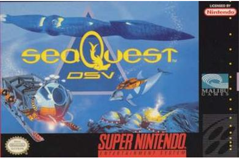 seaQuest DSV (video game) - Wikipedia