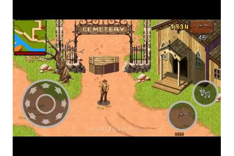 Wild West Guns mobile java games - YouTube