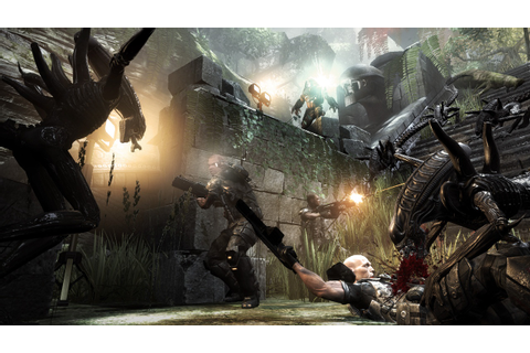 Aliens Versus Predator Game Wallpaper | ImageBank.biz