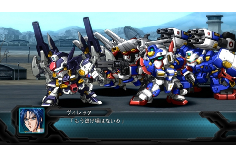 2nd Super Robot Wars OG TGS stage gameplay - Gematsu
