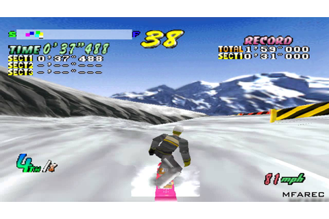 Cool Boarders 2 Gameplay Competition - All Round (PSX,PS ...