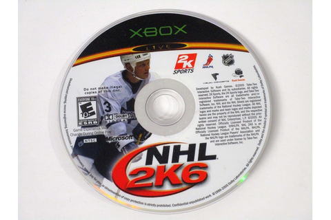 NHL 2K6 game for Xbox (Loose) | The Game Guy