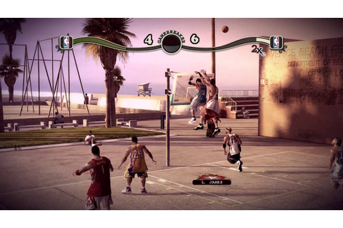(HD) NBA Street Homecourt Gameplay (XBOX 360) - YouTube